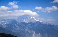 The snow mountain im Lijiang Stock Photos