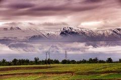 Snow mountain in kashmir india Royalty Free Stock Image