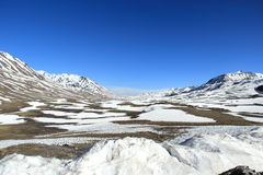 Snow Mountain(Ladakh). Royalty Free Stock Images