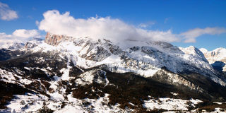 Snow Mountain landscape Royalty Free Stock Photography