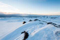 Snow Mountain stock photography