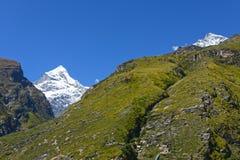 The Snow Mountain Royalty Free Stock Photos
