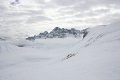 Snow mountain peña telera Royalty Free Stock Photo