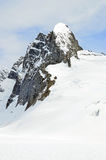 Snow mountain peak Royalty Free Stock Photo