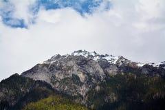 Snow mountain peak Royalty Free Stock Image