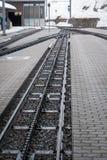 Snow Mountain Railway Royalty Free Stock Photo