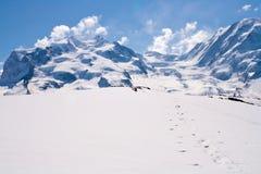 Snow Mountain Range Royalty Free Stock Photos