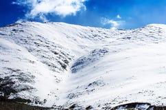 Snow mountain range, Ladakh, India Stock Image