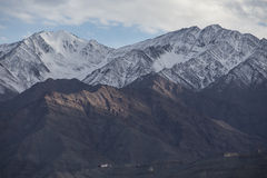 Snow Mountain Range, Leh Stock Photography