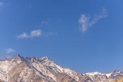 Snow Mountain Range, Leh India Stock Photography