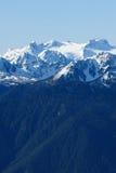 Snow mountain ridge Royalty Free Stock Photo