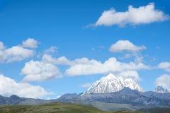 Snow mountain scenery Royalty Free Stock Photography