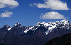 Snow Mountain. Scenic mountain landscape shot at sela pass, tawang Royalty Free Stock Photos