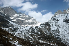 Snow mountain in sichuan of china Royalty Free Stock Image