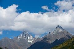 Snow mountain,sichuan,china Royalty Free Stock Photos