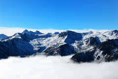 Snow mountain in Sichuan Province Stock Photography