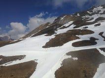 Snow mountain. For ski Stock Photos