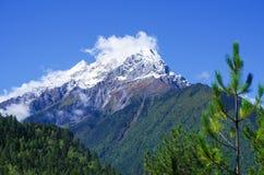 Snow mountain Royalty Free Stock Photo