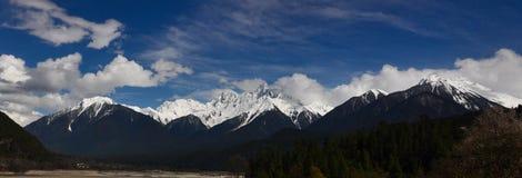 Snow Mountain in Tibet Royalty Free Stock Photo