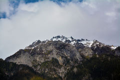 Snow mountain top Royalty Free Stock Photography