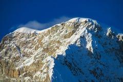 Snow mountain top Royalty Free Stock Photos