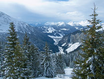 Free Snow Mountain Valley Royalty Free Stock Photo - 18679325