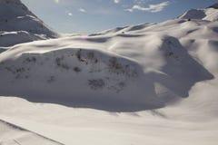 Snow and mountain Royalty Free Stock Photos