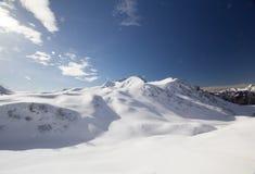 Snow mountain Stock Images