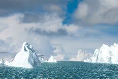 Snow Mountain With Nice Sky Royalty Free Stock Image