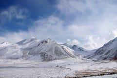 Snow Mountains Royalty Free Stock Photo