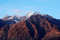 Snow Mountains Royalty Free Stock Image