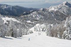 Snow mountains Royalty Free Stock Photos