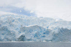 Snow mountains in Antarctic Royalty Free Stock Photo