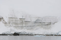Snow mountains in Antarctic Stock Image