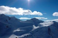 Snow mountains in Austria Stock Image