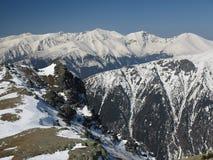 Snow mountains (High Tatras, Slovakia) Royalty Free Stock Photo