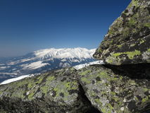 Snow mountains (High Tatras, Slovakia) Stock Image