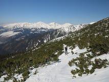 Snow mountains (High Tatras, Slovakia) Stock Photography