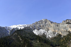 The Snow Mountains, Jiuzhaigou Royalty Free Stock Photography