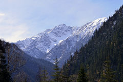 The Snow Mountains, Jiuzhaigou Stock Photos