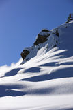 Snow mountains. Snow mountain travel ski dolomiti royalty free stock photo