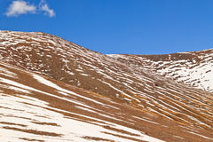 Snow Mountains in Namco, Tibet Royalty Free Stock Photos