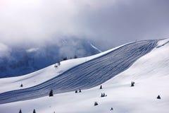 Snow mountains. Snow ski dolomiti sport mountain royalty free stock photos