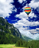 Snow mountains in Switzerland Royalty Free Stock Photo