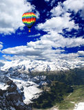 Snow mountains in Switzerland Royalty Free Stock Images