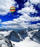 Snow mountains in Switzerland Royalty Free Stock Photos