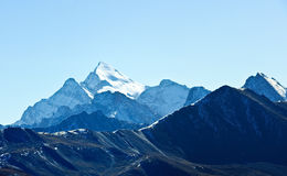 Snow mountains in Tibet Stock Photos