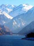 Snow mountain,tianshan Royalty Free Stock Photos