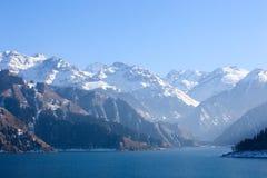 Snow mountain,tianshan Royalty Free Stock Images