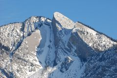 Snow Moutain In Rockies Royalty Free Stock Image